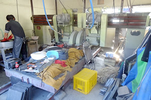 雄勝硯の生産環境調査
