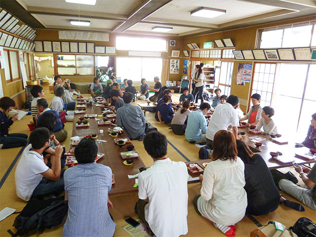雄勝生活研究所主催の「スローなまちでいこう」発足イベント